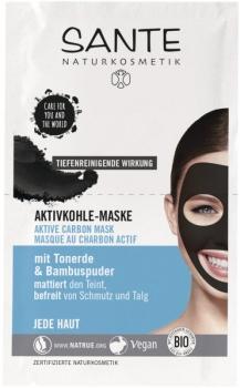 Sante Aktivkohle Maske 8ml