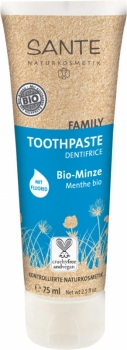 Sante Family Zahncreme Minze mit Flourid 75ml