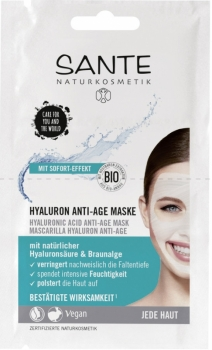 Sante Hyaluron Anti Age Maske 8ml