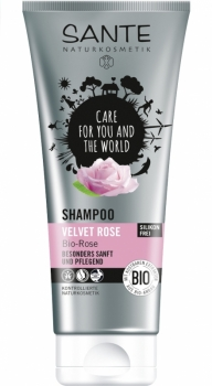 Sante Shampoo Velvet Rose 200ml