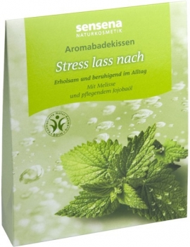 Sensena Aroma Badekissen Stress lass nach 60g