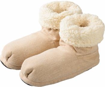 Mikrowellenschuhe Hot Boots Comfort beige