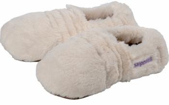 Wärme Slippies Deluxe gegen kalte Füße creme M - mit Inlett