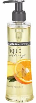 Sodasan Flüssigseife Spicy Orange 250ml