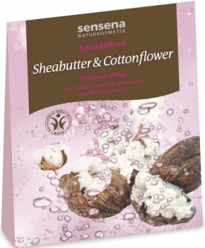 Sensena Sprudelbad Sheabutter & Cottonflower 80g