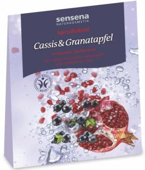 Sensena Sprudelbad Cassis & Granatapfel 80g