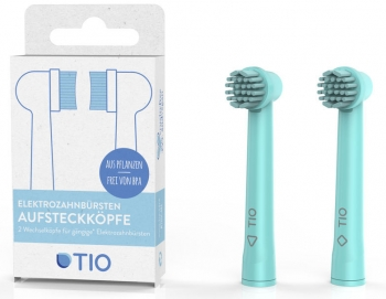 Tiomatic Aufsteckbürsten elektrische Zahnbürste