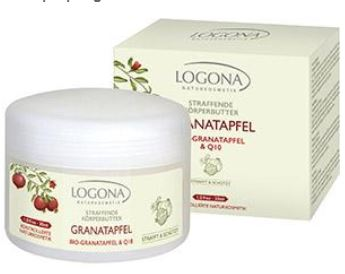 Logona Granatapfel + Q10 Körperbutter 200ml