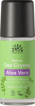 Urtekram Kristall Deo roll on Aloe 50ml
