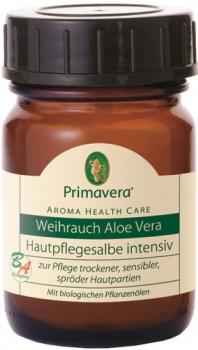 Primavera Weihrauch Hautpflegesalbe mit Aloe Vera 50ml