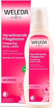Weleda Pflege Lotion Wildrose 200ml
