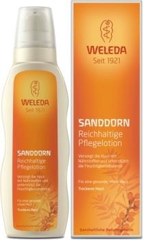 Weleda Pflege Lotion Sanddorn 200ml