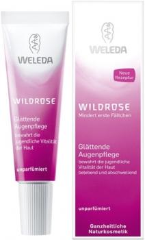 Weleda Wildrose glättende Augenpflege Augencreme 10ml
