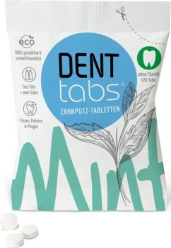 Zahnputztabletten Denttabs fluoridfrei 125 Stück