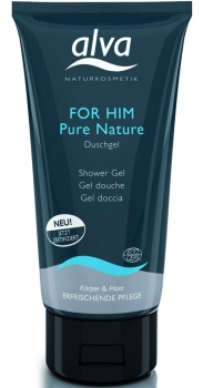 alva Duschgel for him pure nature 175ml