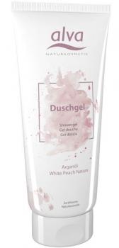 alva Duschgel Arganöl White Peach 200ml