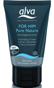 alva Feuchtigkeitscreme for him pure nature 50ml