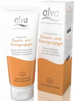 alva Sanddorn Duschgel Reinigungsgel 100ml