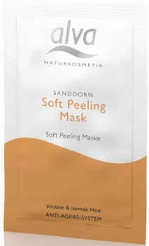 alva Sanddorn Soft Peelingmaske Anti Aging 10ml