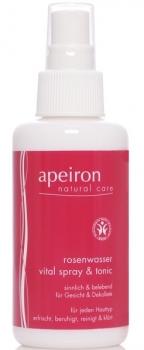 Apeiron Rosenwasser Spray & Tonic 100ml