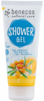 Benecos Duschgel Sanddorn Orange