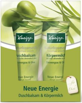 Kneipp Kosmetikset Neue Energie