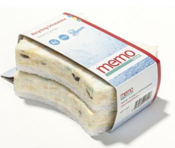 memo Reinigungsschwamm aus Recyclingmaterial