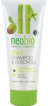 neobio 2in1 Duschgel & Shampoo 200ml