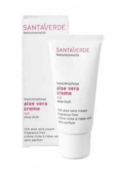 SantaVerde Aloe Vera Creme rich ohne Duft 30ml