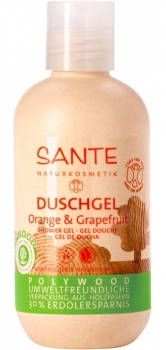 Sante Duschgel Orange Grapefruit Polywood 200ml