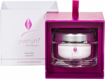 Yverum Hyaluron Creme 24h 50ml